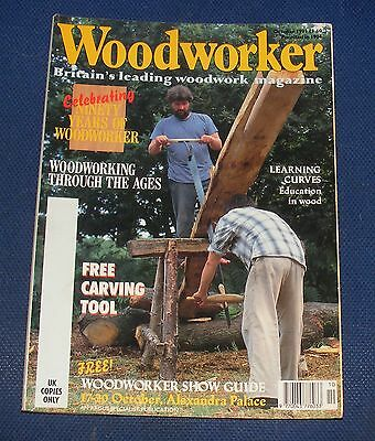 Woodworker October 1991 - Woodworking Through The Ages