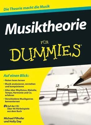 Musiktheorie für Dummies - Michael Pilhofer / Holly Day - 9783527708703