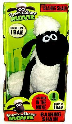 SHAUN THE SHEEP THE MOVIE BAAHRING 34 cm SOFT TOY GENUINE LICENSED