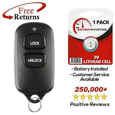 New Replacement Keyless Entry Remote Key Car Fob For Toyota BAB237131-056
