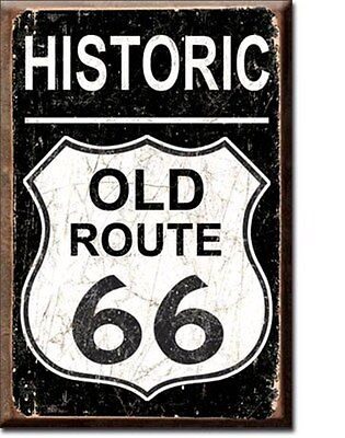 Historic Old Route 66 Fridge Magnet   (de)