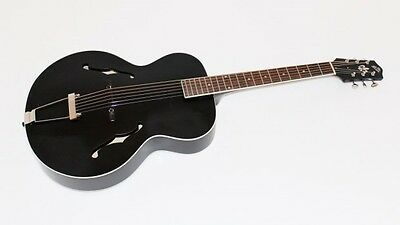 The Loar LH-300 Archtop Acoustic Guitar - BLACK MATTE  NEW!