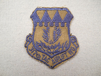 USAF 317th Tactical Airlift Wing Subdued Twill Cut Edge Patch