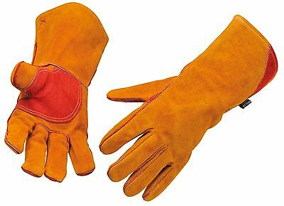 Portwest Reinforced Welding Gauntlet Work Gloves Welding Safety Workwear A530