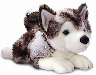 Keel Toys STORM HUSKY Baby/Kids Dog Teddy Animal Soft Toy/Gift Nursery BN