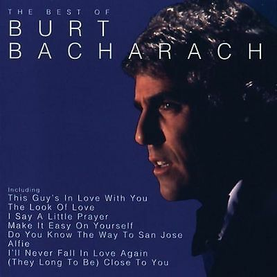 Burt Bacharach-The Best Of Burt Bacharach-New Cd Album