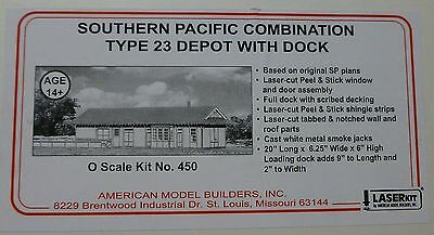 American Model Builders, Inc #450 SP Type 23 Depot (Kit Form) Large kit /O Scale