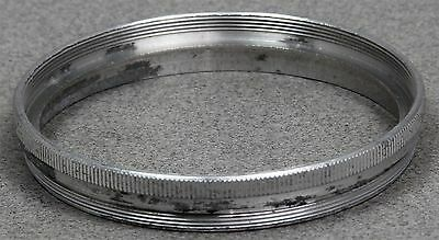 Series Viii 8 Filter Retaining Ring - Metal  Double Threaded -  Silver
