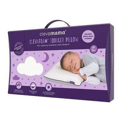 Clevamama ClevaFoam Memory Foam Toddler Pillow
