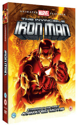 The Invincible Iron Man DVD (2007) Patrick Archibald