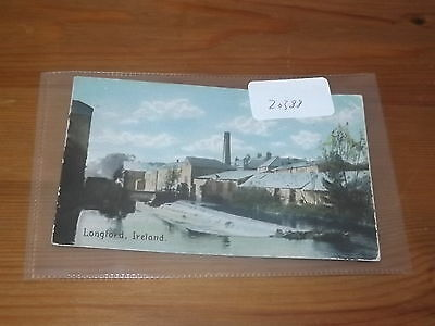 Old  postcard our ref#20388 LONGFORD IRELAND