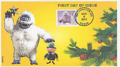 Jvc Cachets -2014  Rudolph  Issue First Day Covers Fdc Christmas Topic Cover #4