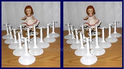 "2 dozen 24 Kaiser #2001 Doll Stands for 8"" Madame Alexander GINNY Riley"