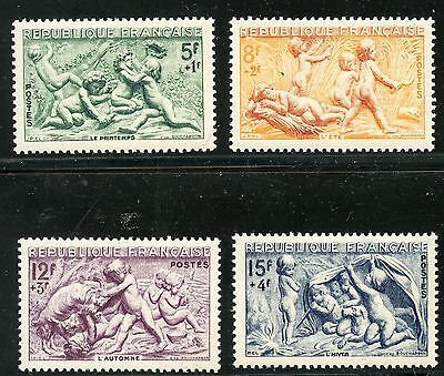Promo / Stamp / Timbre France Neuf  N° 859/862 ** Serie Des Saisons