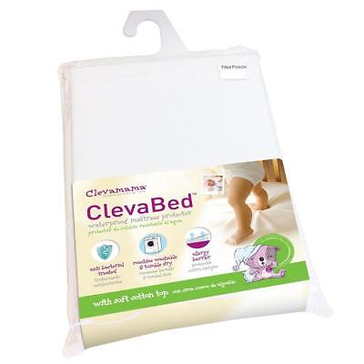 Clevamama Clevabed Waterproof Mattress Protector for Single Beds (190x90cm)