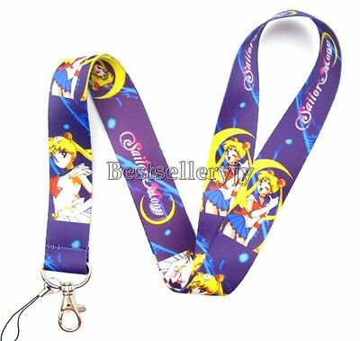 Lot Japanes Beautiful girls Neck mobile Phone lanyard Keychain straps charms Y36