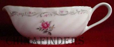 FINE CHINA of JAPAN china ROYAL SWIRL pattern GRAVY BOAT