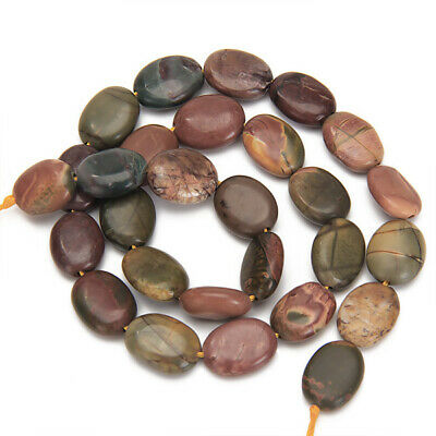 4mm /8mm / 6mm Round Natural Picture Jasper Gemstone Loose Beads Strand 15.5""