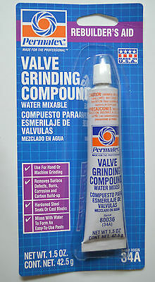 PERMATEX 80036 Valve Lapping Grinding Compound 34A 1.5 OZ Tube