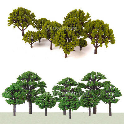 Lot 40 Multi Scale Model Trees Train Railway Architecture Diorama Scenery HO N Z