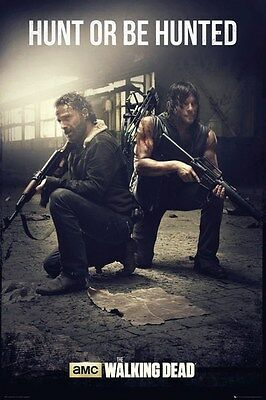 The Walking Dead Hunt Or Be Hunted Poster 61x91.5cm