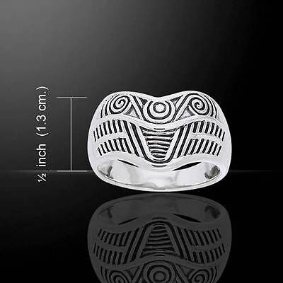 Beautifully crafted Art Deco style Silver Ring