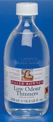 Daler Rowney Artists Oil Mediums Low Odour Thinner 500ml