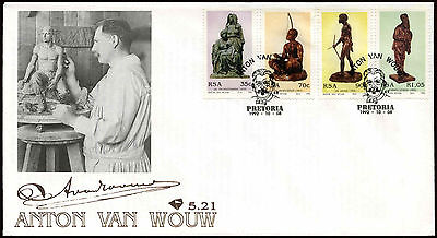 South Africa 1992 Anton Van Wouw FDC First Day Cover #C14321