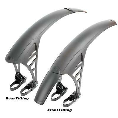 Zefal No Mud Universal MTB Mudguard  Front OR Rear Fitting  Black mud guard