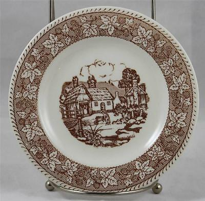 "Kingsway Alliance Ohio Bread Plate Old Classic Prints  ""The Gardener"""
