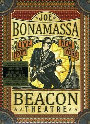 Joe Bonamassa: Live from New York - Beacon Theatre [2 D (2012, REGION 1 DVD New)