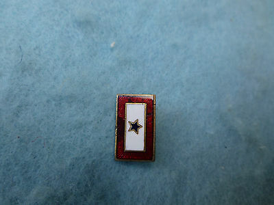 WWII Son In Service Pin Mother Sweetheart Enamel Blue Star Home Front WW2