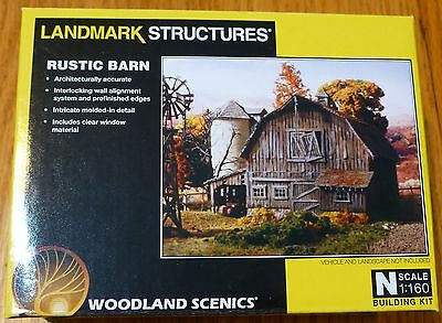 Woodland Scenics N #5211 Rustic Barn kit (We Combine Ship)