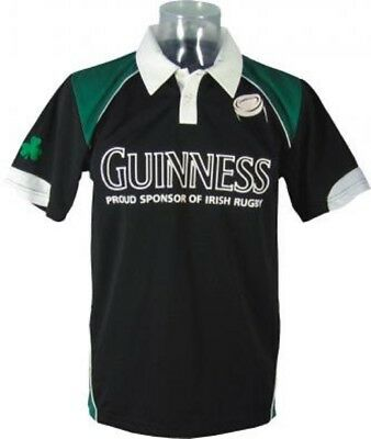 Maglietta manica corta Polo Irish Rugby Guinness Beer PS 11440