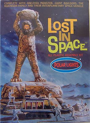 Rare !Sealed 1998 Deluxe Lost In Space One-Eyed Monster Diorama with Vehicle