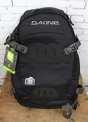 New Dakine Sequence 33L Backpack with Removable Padded Camera Block Black