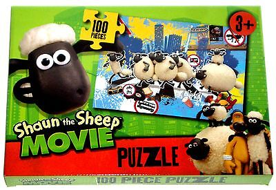 Shaun The Sheep The Movie 100 Piece Puzzle Genuine Licensed