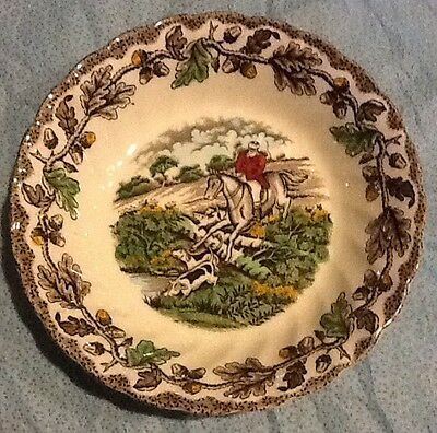 Fox Hunt Hunting Myotts Small Dessert or Berry Bowl Multichrome Transfer