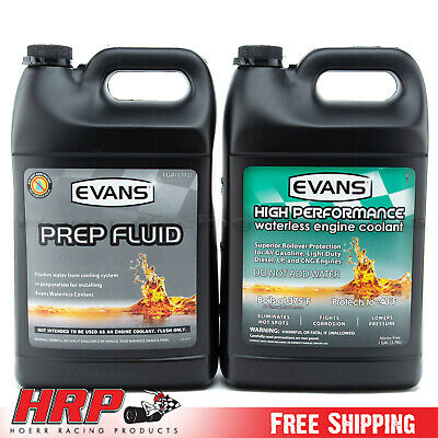 (1) Evans NPG+C High Performance Waterless Coolant & (1) Evans Prep Fluid