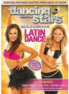 Dancing With the Stars - Sizzle & Groove Latin Dance (DVD, 2013) Karina Smirnoff