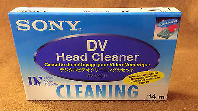 NOS Sony DV-12CLD DV Head Cleaner Tape
