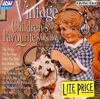 Various Artists : Vintage Children's Favourites (1926-1950) [IMPORT] 1999 CD