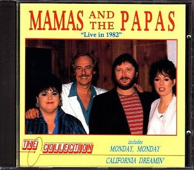 Mamas and Papas : Mamas & Papas Live 82 2000 CD
