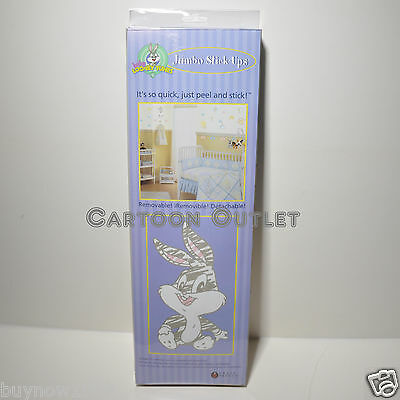 Looney Tunes Baby Wall Stickers Wall Decorations 25+ Room Decor Tweety Bugs Buny