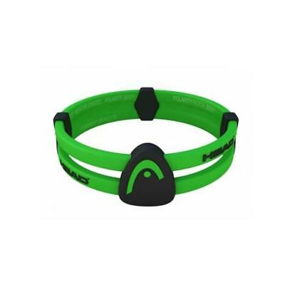 Head Radical Dual Loop Bracelet by Trion:z (Green Black Small 16cm)