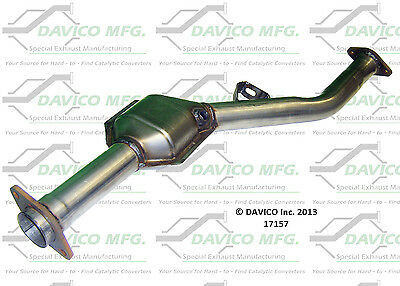 Catalytic Converter-Exact-Fit Rear fits 05-07 Subaru Legacy 2.5L-H4
