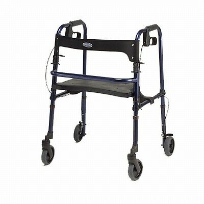Invacare 65100 ROLLITE ROLLATOR ROLLING WALKER w/ SEAT Preowned