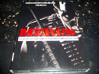 Mercs: Soldiers Of Fortune 10 Feature Film Collection!! Brand New & Sealed!!!!!!