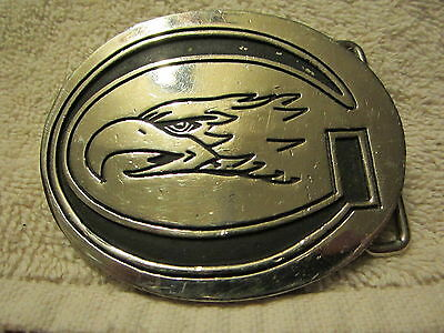 Vintage Crager Eagle Belt Buckle