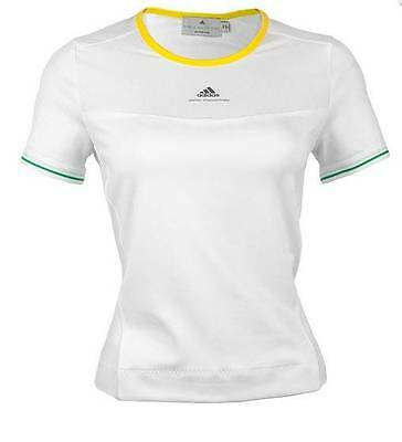 adidas Stella McCartney GIRLS ASMC Tennis Barricade Tee ~ Large ~NEW~ D80693